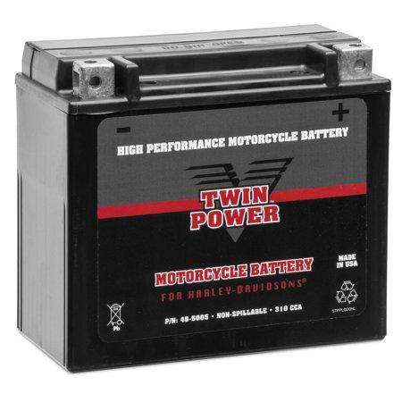 Biker's Choice YTX20H High Performance Maintenance Free Battery for 1971-2000 Harley Davidson Models