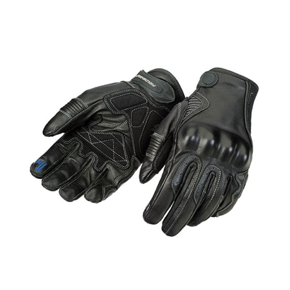 Fieldsheer 'Soul Ride' Black Leather Gloves