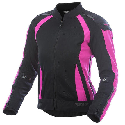 Fly Racing Coolpro Women's Pink/Black Mesh Jacket