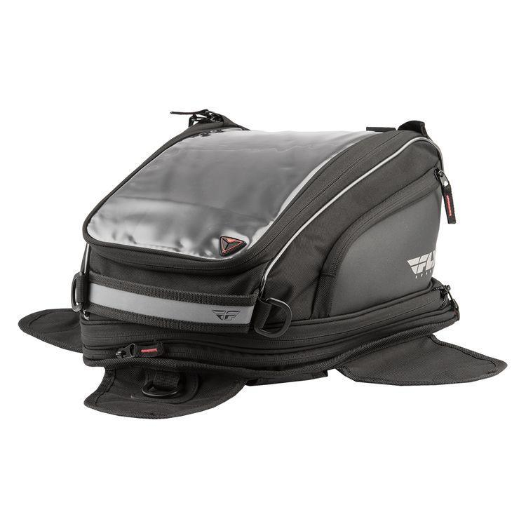Fly Racing Black Medium Tank Bag