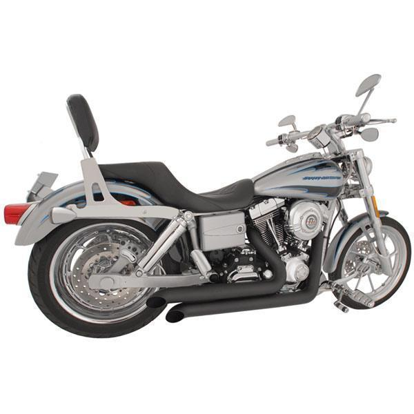 Freedom Performance Declaration Turn Out Black Exhaust for 1991-2005 Harley Davidson Dyna