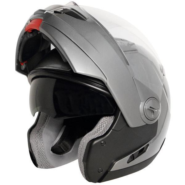Hawk ST-1198 Transition 2 in 1 Gun Metal Modular Helmet