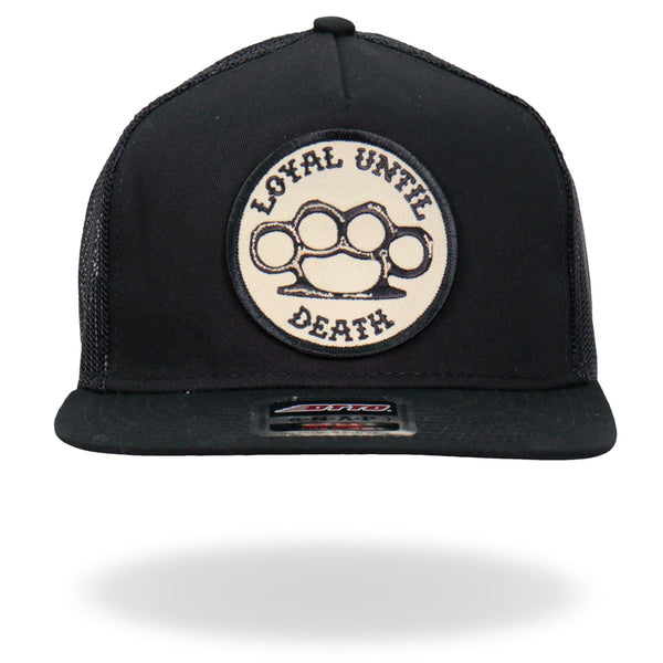 Hot Leathers GSH2015 Loyal Until Death Snapback Hat - Hot Leathers Hats and Caps