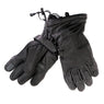 Hot Leathers GVD1015 Black Deerskin Leather Gauntlet Gloves - Hot Leathers Gloves