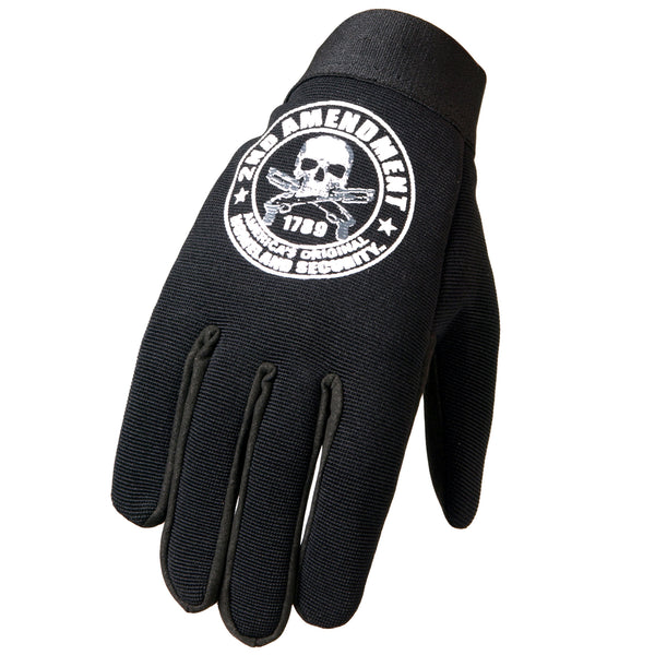 Hot Leathers GVM2013 2nd Amendment America's Original Homeland Security Mechanics Gloves - Hot Leathers Gloves