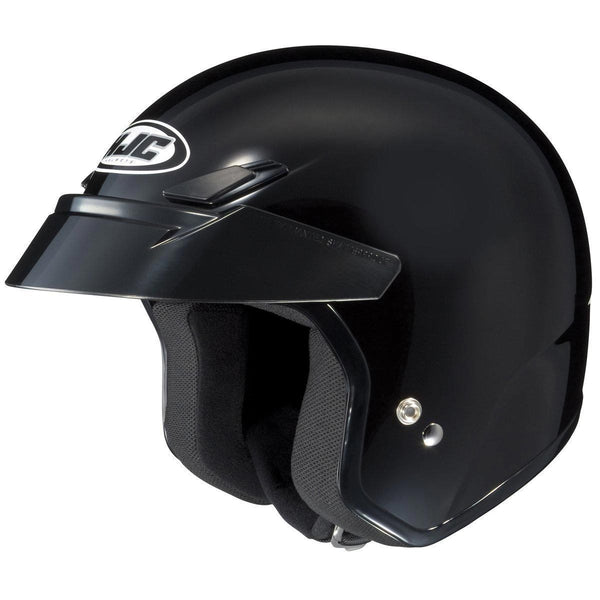 HJC CS-5N Black Open Face Helmet - N/A