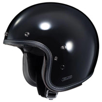 HJC IS-5  Glossy Black Open Face Motorcycle Helmet