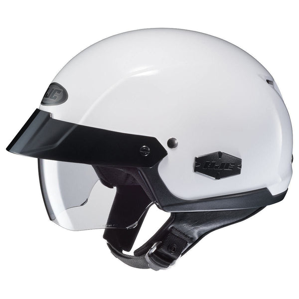 HJC IS-Cruiser White Half Helmet - N/A