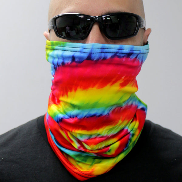 Hot Leathers HWN2014 Tie Dye Neck Gaiter Mask - Hot Leathers Face Masks