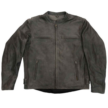 Hot Leathers JKM1029 Men's Distress Brown 'Carry and Conceal' Leather Jacket