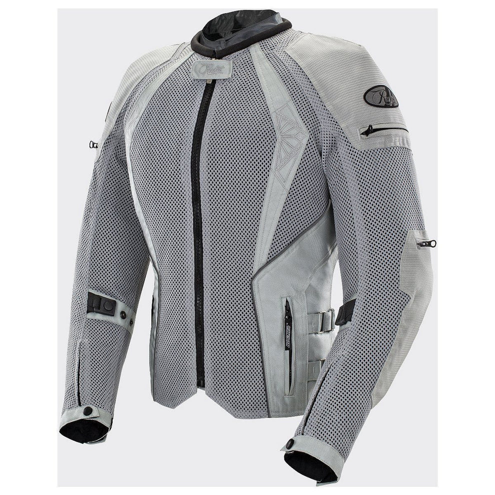 Joe Rocket Cleo Elite Women's Silver Mesh Jacket