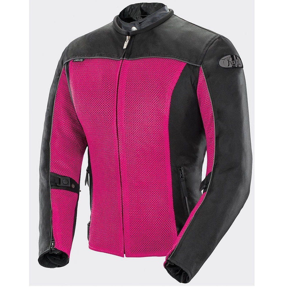 Joe Rocket Velocity Women's Pink/Black Mesh Jacket