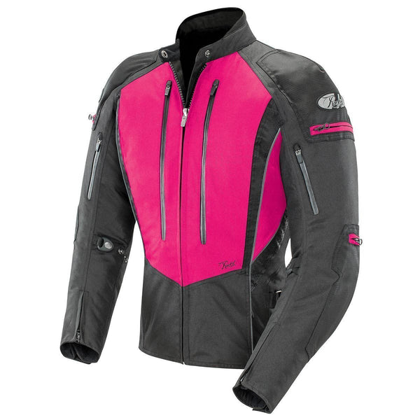 Joe Rocket Atomic 5.0 Women's Pink And Black Textile Jacket - N/A