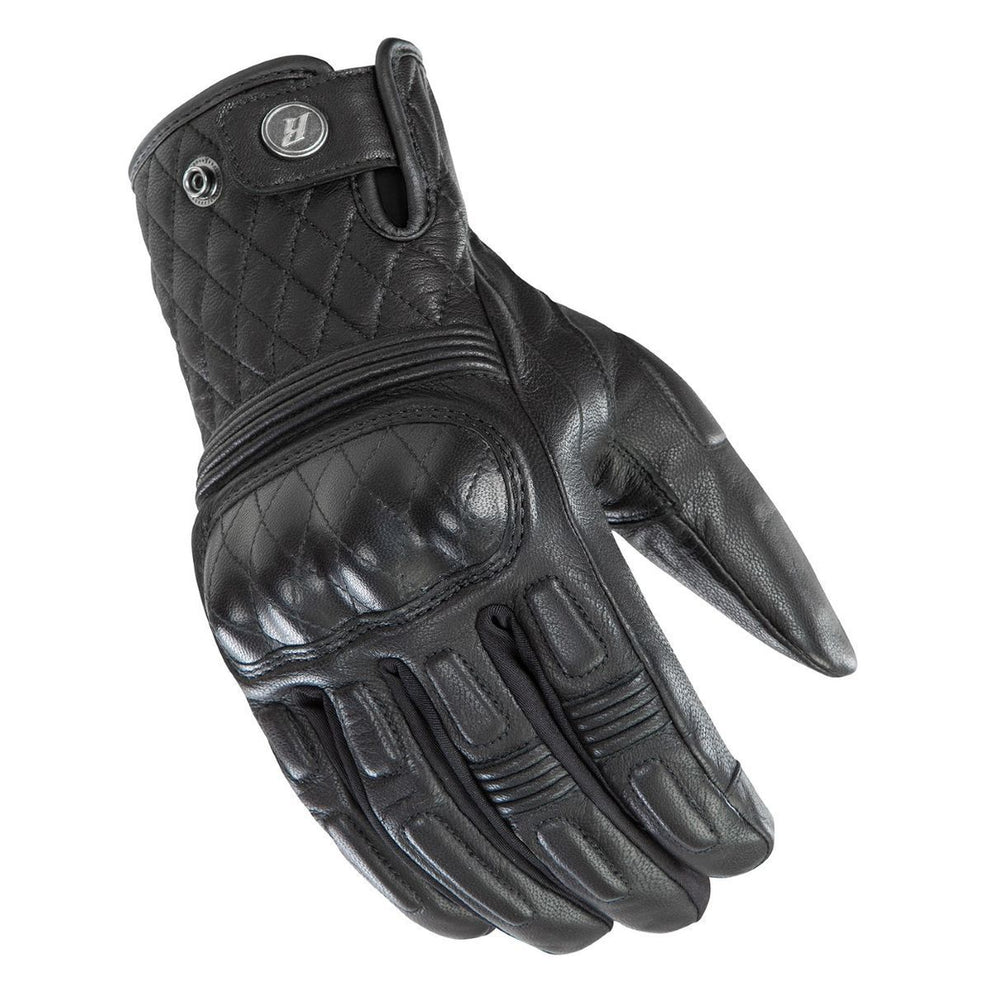 Joe Rocket Black DIAMONDBACK Leather Gloves