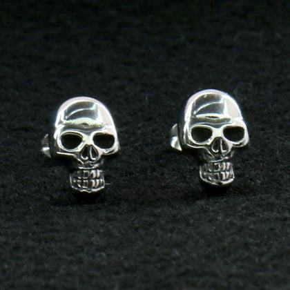 Hot Leathers JWE2102 Skull Post Earrings - Hot Leathers Jewelry