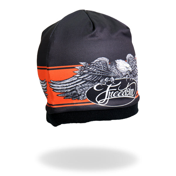 Hot Leathers KHC1004 Freedom Eagle Beanie - Hot Leathers Hats and Caps