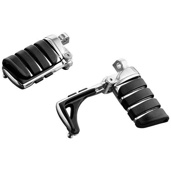 Kuryakyn Switchblade Footpegs with Male Mount Adapters - N/A