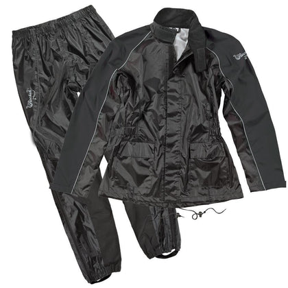 Joe Rocket 'RS-2' Womens Black Rain Suit