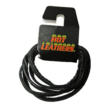 Hot Leathers LHH1001 72 Inch Black Leather Lace - Hot Leather Vest Laces