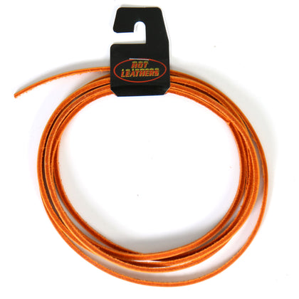 Hot Leathers LHH110 72 Inch Orange Leather Lace - Hot Leather Vest Laces