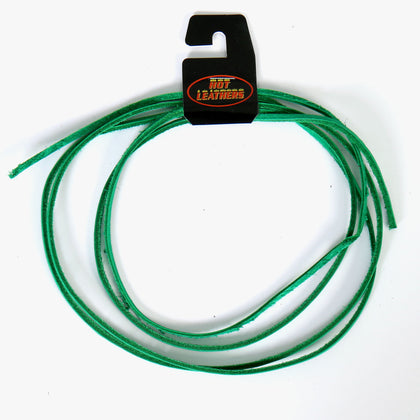 Hot Leathers LHH110 72 Inch Green Leather Lace - Hot Leather Vest Laces