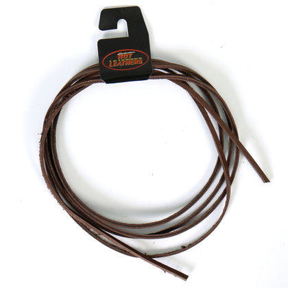 Hot Leathers LHH110 72 Inch Brown Leather Lace - Hot Leather Vest Laces