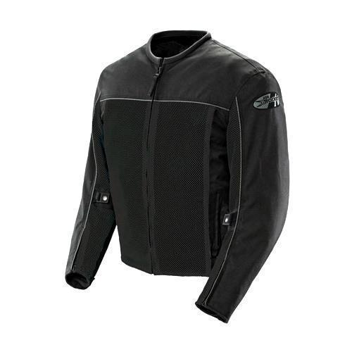 Joe Rocket 'Velocity' Mens Black Mesh Motorcycle Jacket - N/A