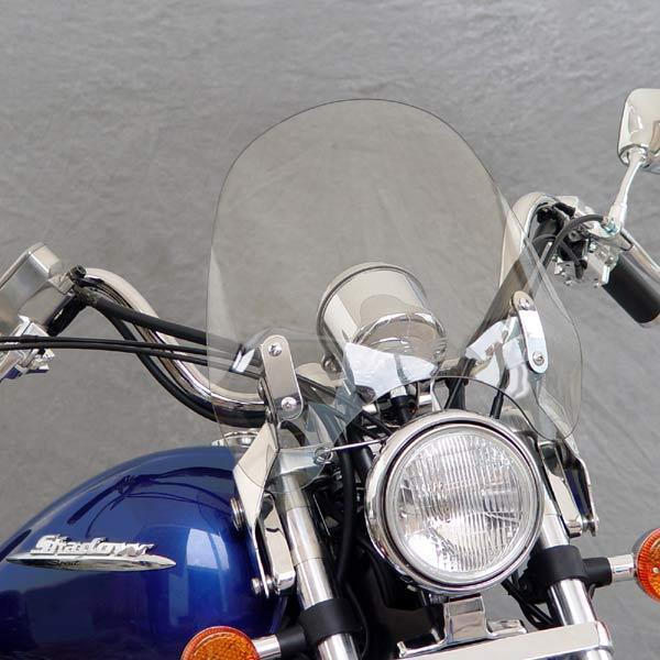 National Cycle N21927 Switchblade Deflector Clear Windshield for Harley Davidson 1986-2014 FL Softail models