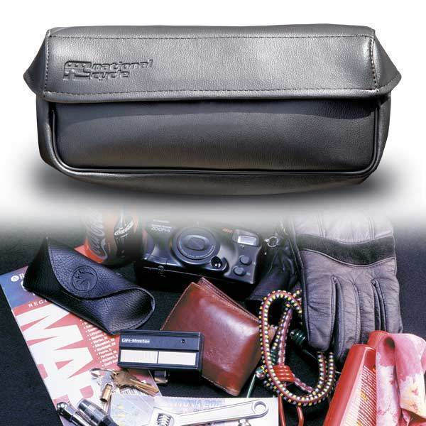 National Cycle Holdster Leather Storage Bag for Switchblade 2-Up, Chopped and Shorty Windshields