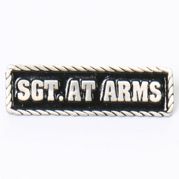 Hot Leathers PNA1092 Sgt. At Arms Pin - Hot Leather Pins