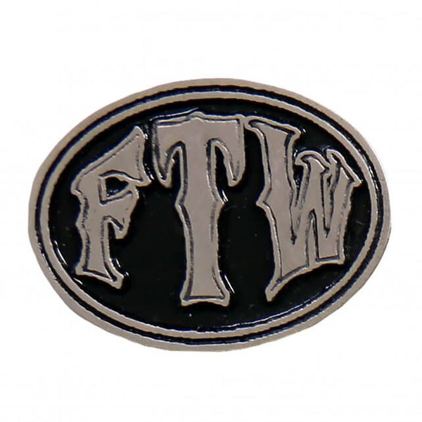 Hot Leathers PNA1297 FTW Oval Pin - Hot Leather Pins