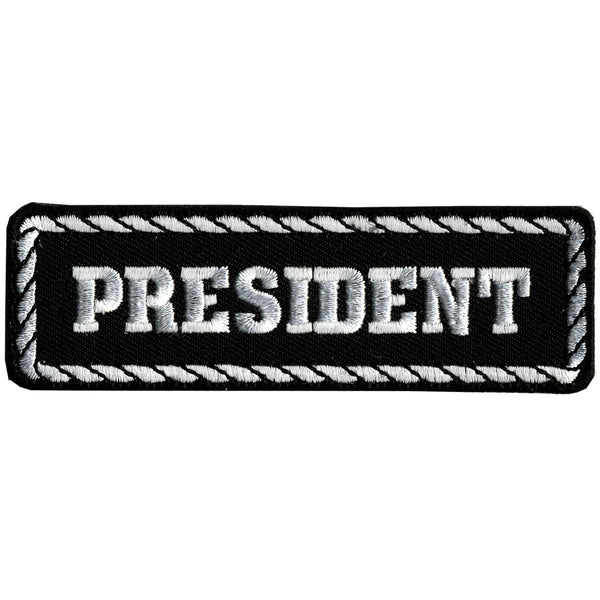 "Hot Leathers PPD1002 President 4"" x 1"" Patch - Hot Leathers Patches"
