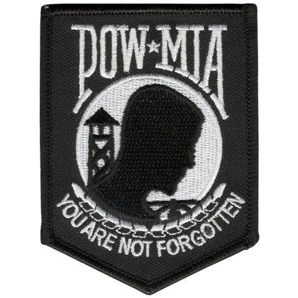"Hot Leathers PPL9068 POW/MIA 3"" x 4"" Patch - Hot Leathers Patches"