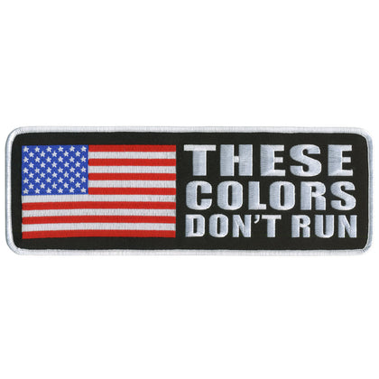 "Hot Leathers PPL9143 These Colors Don't Run 4"" x 2"" Patch - Hot Leathers Patches"