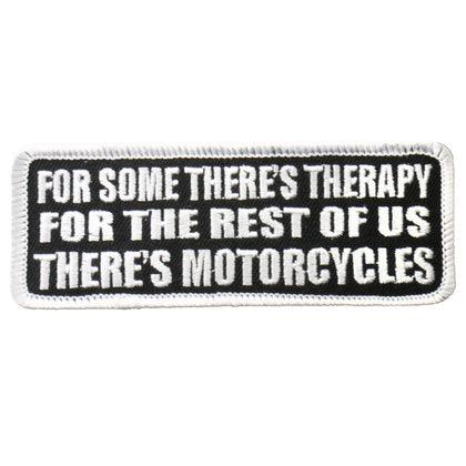 "Hot Leathers PPL9234  There's Motorcycles 4"" x 2"" Patch - Hot Leathers Patches"