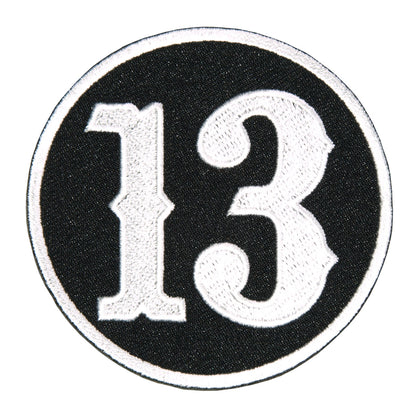 "Hot Leathers PPL9373 Circle 13 3"" x 3"" Patch - Hot Leathers Patches"