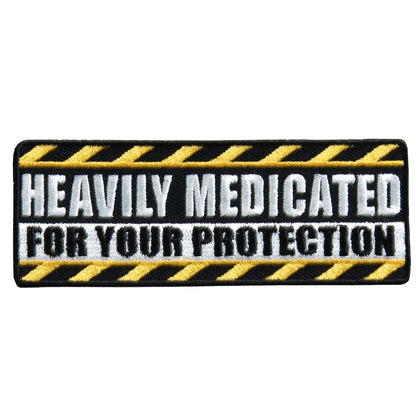 "Hot Leathers PPL9382 Heavily Medicated 4"" x 2"" Patch - Hot Leathers Patches"