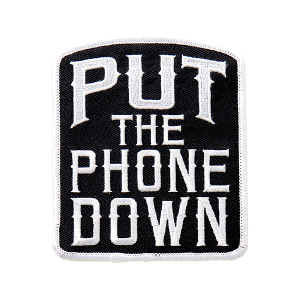 "Hot Leathers PPL9497 Put The Phone Down 3""x4"" Patch - Hot Leathers Patches"
