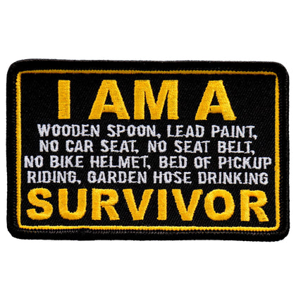 Hot Leathers PPL9746 4 Inch I Am a Survivor Patch - Hot Leathers Patches