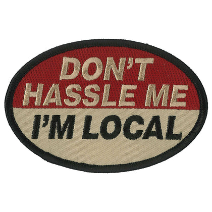 "Hot Leathers PPL9816 Hassle Me 4""x 3"" Patch"