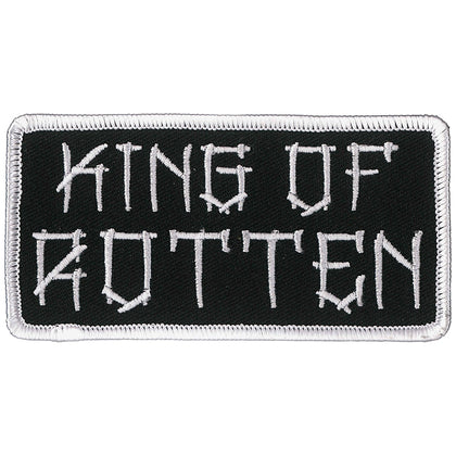 "Hot Leathers PPL9859 King of Rotten 4""x2"" Patch - Hot Leathers Patches"