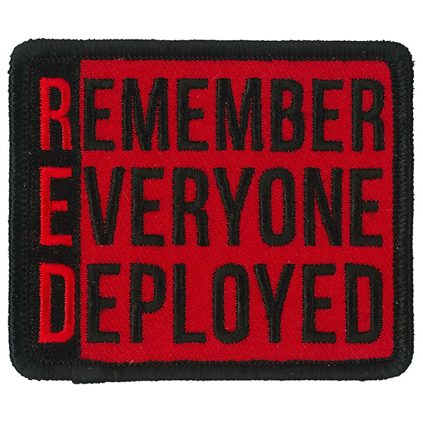 "Hot Leathers PPL9863 Remember Deployed 3""x 3"" Patch - Hot Leathers Patches"