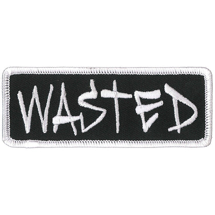 "Hot Leathers PPL9866 Wasted 4""x 2"" Patch - Hot Leathers Patches"