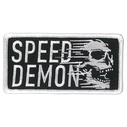 "Hot Leathers PPL9870 Speed Demon 4""x 2"" Patch - Hot Leathers Patches"