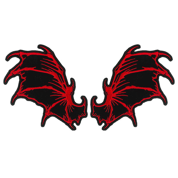 "Hot Leathers PPQ1435 Dragon Wings 4"" Patch - Hot Leathers Patches"