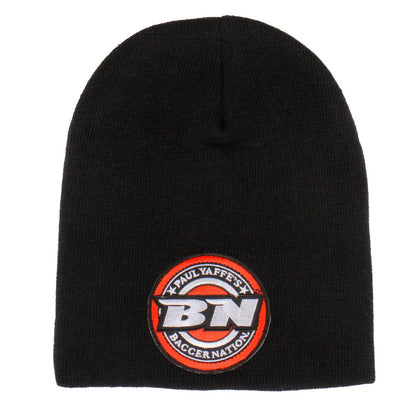 Hot Leathers PYA1015 Official Paul Yaffe's Bagger Nation Coin Logo Black Knit Hat - Hot Leathers Hats and Caps