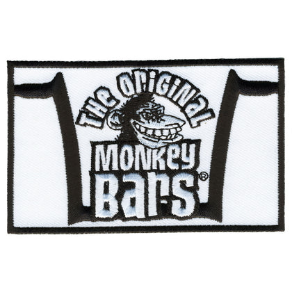 "Hot Leathers PYA1020 Official Paul Yaffe's Bagger Nation Monkey Bars 4""X2.5"" Patch - Hot Leathers Patches"