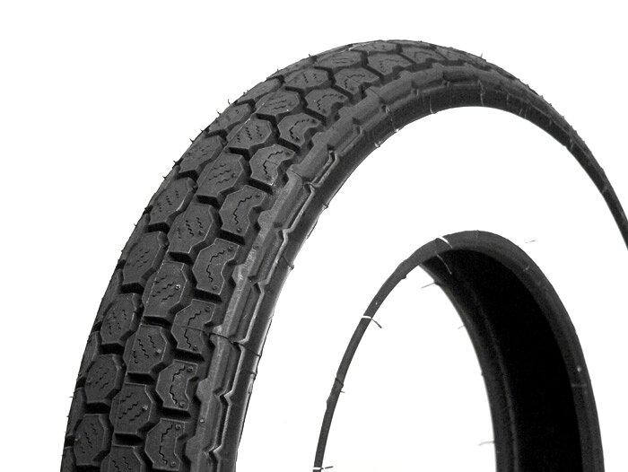 Continental Conti K62 Classic Front/Rear Whitewall Scooter Tire
