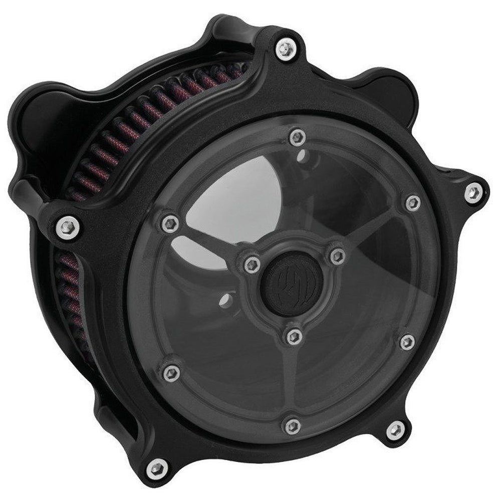 Roland Sands Design Clarity Black Ops Air Cleaner for Harley Davidson 2008-15 FL models with Throttle By Wire