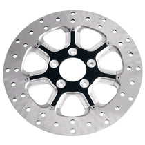 Roland Sands Design Diesel Contrast Cut 11.8in Front Brake Rotor for Harley Davidson 2008-15 FLH/FLT, 2006-15 Dyna models
